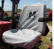 MAHINDRA TRACTOR SEAT COVER GRAY -BIG BACK REST