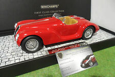 ALFA ROMEO 6c SS CORSA Spider 1939 Red die Cast 1/18 MINICHAMPS 107120230 R