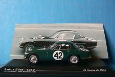 LOTUS ELITE #42 24 HOURS MANS 1952 CLARK WHITMORE IXO