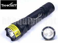 TANK007 Tank 007 PT10 3w LED 395nm UV Ultraviolet 18650 Torch