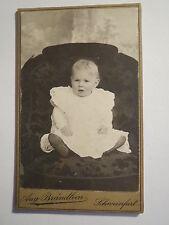 Schweinfurt - Baby - Kleinkind im Sessel / CDV