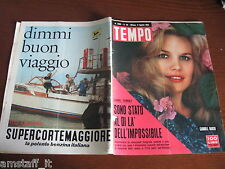 RIVISTA TEMPO 1962/32=CARROLL BAKER=LIONEL TERRAY JANNU=VASCO PRATOLINI=
