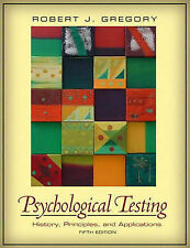 USED (VG) Psychological Testing: History, Principles, and Applications (5th Edit