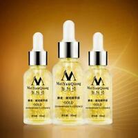 30 ML 24K Gold Essence Anti-Wrinkle Aging Moisturizing Hyaluronic Collagen Acid