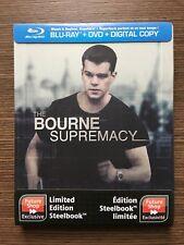 Bourne Supremacy (Blu-ray Steelbook) - NEW