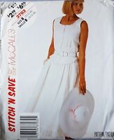 Uncut 80s Blouse Top & Skirt Vtg Sewing Pattern McCall's 3703 Bust 32.5 34 36