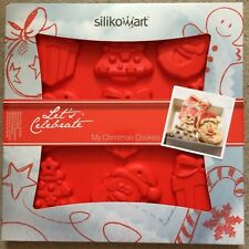 Silikomat Christmas Cookies shapes Silicone Mould for Christmas tree decorations