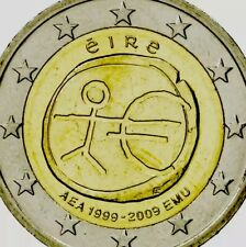 Ireland Coin 2€ Euro 2009 Commemorative Stickman New UNC From Bag Eire