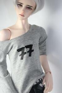 1/3 SD T-shirt Clothing AS DOD BJD Coat Suit Jacket doll Dollfie LUTS Grey