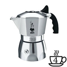 BIALETTI | Caffettiera Moka BRIKKA 4 Tazze | Alluminio | Caffè con Cremina