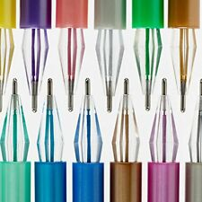 48 Gel Pens Neon, Milky, Glitter, Metallic Gel Pen Set With Case For Adult
