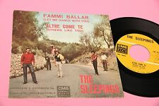"THE SLEEPINGS 7"" ALTRE COME TE ORIG ITALY BEAT 1964 TOP RARE"