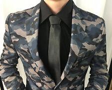 Diseñador ARMY ARMEE Camuflaje Chaqueta Blazer Entallado Ajustado slimfit
