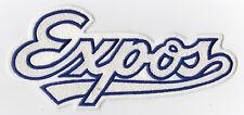 "1992-2004 ERA MONTREAL EXPOS 8"" MLB BASEBALL SCRIPT LOGO DEFUNCT TEAM PATCH"
