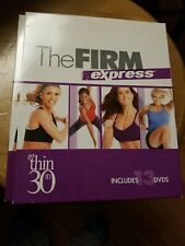 The Firm Express Get Thin In 30 Days Exercise 13 Dvd Set Great condition