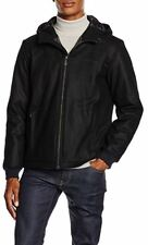 Versace Jeans Mens Black hooded quilted Jacket/Coat size 48(M)* - Made in Italy