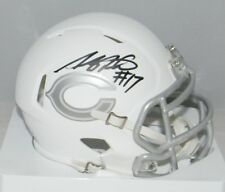 ANTHONY MILLER AUTOGRAPHED SIGNED CHICAGO BEARS ICE SPEED MINI HELMET JSA