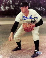 Yankees Don Larsen Authentic Signed 8x10 Photo Autographed BAS 2