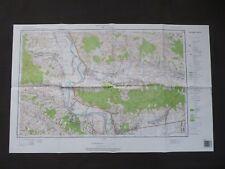 Landkarte Polen, Meßtischblatt 174.42 Kolaczyce, Wojiwodschaft Krosnienskie 1997