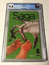 Saga 2 Cgc 9.8 1st Stalk Issabell Image White Pages