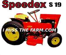 SPEEDEX S-19 Garden Tractor tee shirt