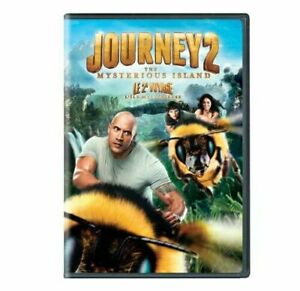 Journey 2 The Mysterious Island (DVD MOVIE) THE ROCK FUN FILLED FAMILY ADVENTURE