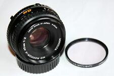 Excellent Minolta Rokkor-X MD 45mm f/2 MF MD Lens