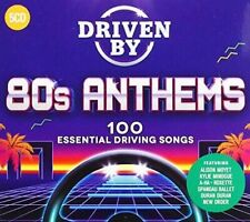 Various Artists - Driven By 80s Anthems / Various [New CD] Boxed Set,