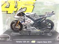 Leo 1:18 VR46 Rossi Yamaha YZR-M1 Laguna Seca 2010 Motogp Model