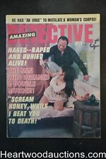 """""""Amazing Detective"""" February 1971 Assault Cover"""