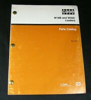 CASE W18B W20C Wheel Loader Tractor Parts Manual Book Catalog List Guide OEM