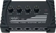 Cad Audio Ha4 Robuster 4 Canali di Amplificatore per Cuffia