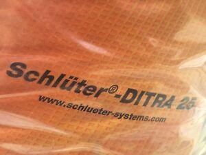 Schlüter Entkopplungsbahn Entkopplungsmatte Ditra Ditra25 1 - 30 qm