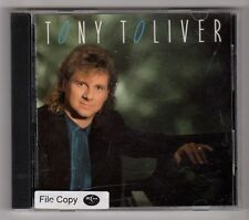 (GZ145) Tony Toliver, Back In The Swing Of Things - 1991 CD