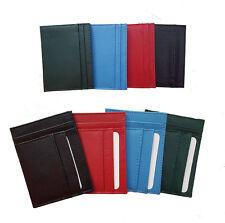 Porta tessere/carte di credito portafogli uomo/donna vari colori