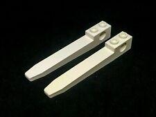 LEGO Part 2823 Technics Chariot Élévateur à Fourche x 4 Pcs Blanc