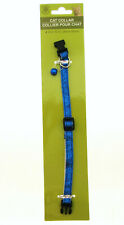 Cat Collar by Greenbrier Kennel Club ~ With Bell ~ Blue Sparkle!