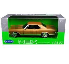 Welly 1/24 1965 Buick Riviera Gran Sport Diecast Model Car Gold (24072)