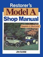 Bishko OEM Repair Maintenance Shop Manual Bound for Ford Model A 1928 - 1931