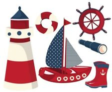 Sail Boat Ships Nautical Sailing Boats Nursery Wall Stickers