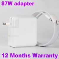 "OEM 87W Type C Power Charger Adapter 2M USB-C Cable Apple Macbook Pro 15"" A1719"