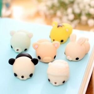 Mochi Soft Cute Animal Squeeze Stretch Compress Squishy Decompression Toy