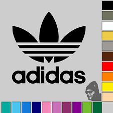 "3x Adidas Trefoil Logo 1.5"" GLOSS or MATTE! Vinyl Decal Sticker Laptop, Phone!"