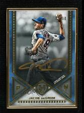 2019 Topps Museum Collection Framed Gold 5/10 Jacob deGrom #MFA-Jd Auto