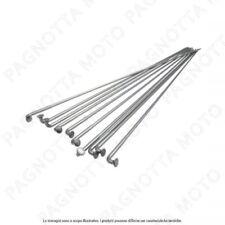 kit 10 pezzi raggi neri in acciaio inox 2x298mm con nipples MV-TEK bicicletta