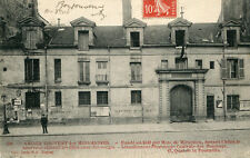 Carte PARIS Ancien Couvent des Miramiones 47 Quai de la tournelle Affiche Bal