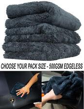 Edgeless Microfibre Towel | Bulk Cloths | Plush Buffing Polish Drying | 500GSM