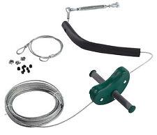 Completa y cremallera de alambre 30m, de 4 mm Cable De Antena tirolina Kit Nuevo Gran Precio