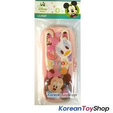 Disney Baby Minnie Stainless Steel Spoon Fork Case Set  BPA Free / Made in Korea