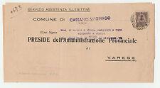 STORIA POSTALE 1944 REGNO EMERGENZA RECAPITO AUTORIZZATO C.40 ISOLATO Z/2271